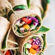 Rainbow-Vegetable-Wraps-with-Peanut-Sauce-9